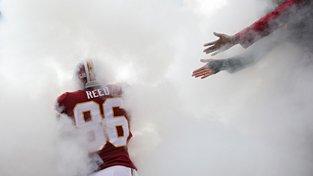Reed ani šest měsíců po otřesu mozku nesmí hrát. Redskins s ním nadále nepočítají