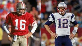 """""""Nechápu, proč ho Patriots poslali pryč,"""" říká legendární quarterback Joe Montana"""